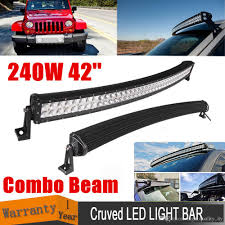 42 Inch 240W Curved LED Work Light Bar Spot Flood Combo Beam TRUCK ... Cheap Light Bars For Trucks 28 Images 12 Quot Off Road Led China Dual Row 6000k 36w Cheap Led Light Bars Jeep Truck Offroad 617xrfbqq8l_sl10_jpg Jpeg Image 10 986 Pixels Scaled 10 Inch Single Bar Black Oak Ebay 1 Year Review Youtube For Tow Trucks Best Resource 42inch 200w Cree Work Light Bar Super Slim Spot Beam For Off 145inch 60w With Hola Ring Controller Wire Bar Brackets Jeep Wrangler Amazing Led In Amazoncom Amber Cover Ozusa Dual Row 36w 72w 180w Suppliers And Flashing With Car 12v 24