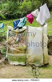 badezimmer oder latrinen aus bahareque häuser sticks