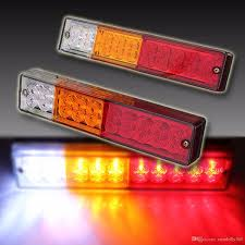 2x 20-LED Car Truck LED Trailer Tail Lights Turn Signal Reverse ... 4 Inch Red 24 Led Round Stopturntail Truck Trailer Light 3 Wire Db5061 24v 90leds 7 Functions Universal Led Truck Rear Light For Emark 140mm 20led Stop Tail Lights Amber Left Right Atomic Strobing Cab Marker Kit Ford Aw Direct 21 Series High Mounted 16 Diode Rectangular Amazoncom Lamphus Sorblast 34w Cstruction Tow Quick Attacklight Rescueheiman Fire Trucks 2018 12 Led Turn Flush Mount Lite Headlights Rigid Industries 55001 Wrangler Jk Headlight Trucklite Pair Luxury Fog F24 In Stunning Image Selection With 44104y Super 44 Flange Yellow Warning