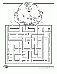 Earth Day Free Printable Worksheets Including Mazes And Coloring Pages For Elementary School Students