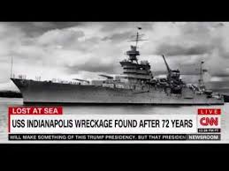 lost uss indianapolis made famous in jaws found saturday in the