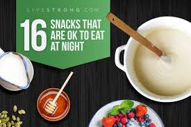 Snacks Before Bed by 16 Snacks That Are Ok To Eat At Night Livestrong Com