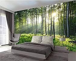 benutzerdefinierte fototapeten natur grüner wald tapete