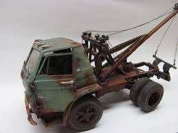 100 Used Truck Scales Weathered Model Cars Dodge Wrecker Junkyard 125 Scale American