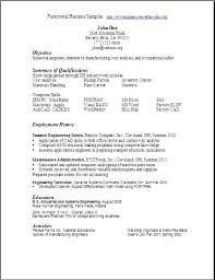 Resume Templates Functional Purposeful Resumes Free Template 2016