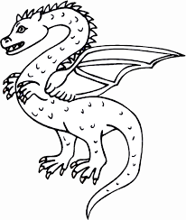 Dragon Coloring Pages Popular Book