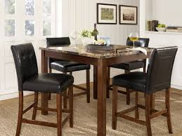 Dining Table Sets At Walmart by Dining Table Glass Top Dining Table With Pedestal Base As Modern