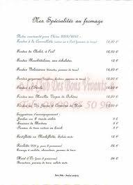 restaurant le chalet du cervin carte et menus