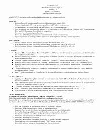 Sample Resume For Software Tester 2 Years Experience Inspirational Testing Samples