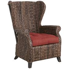 Pier 1 Dining Chairs by Graciosa Mocha Brown Wicker Wing Chair Pier 1 Imports