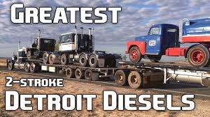 9 Of The Greatest 2-Stroke Detroit Diesel Engines Ever - YouTube