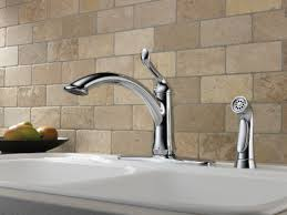 Delta Linden Faucet Stainless by Faucet Com 4453 Ar Dst In Arctic Stainless By Delta