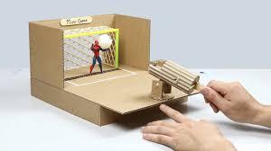 How To Make Desktop Soccer Game From Cardboard