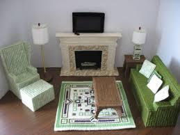 Barbie Living Room Furniture Diy by 36 Best Plastic Canvas Barbie Furniture Images On Pinterest