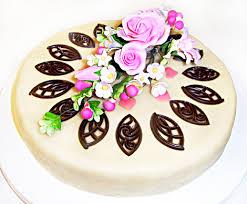 himmlische süßigkeiten torte mit marzipandecke