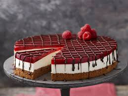 himbeer panna cotta torte
