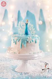 eiskönigin kindergeburtstag frozen torte elsa torten