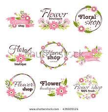 Bright Logo For Flower Shop