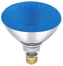 100w par38 floodlight bulb blue indoor outdoor floodlights