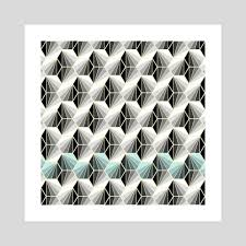 100 Natural Geometry An Art Print By Susana Paz