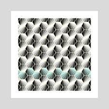 100 Natural Geometry An Art Print By Susana Paz