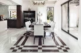 architektur modernes haus ein schönes interieur esszimmer