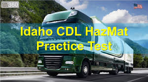 Idaho CDL HazMat Practice Test - YouTube