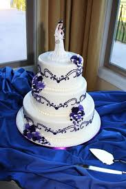 Best 25 Royal Blue Round Wedding Cakes Ideas On Pinterest And Purple