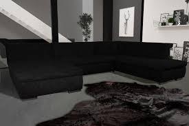 canapé tissu noir canapé d angle fixe contemporain en tissu noir lorenzo canapé en