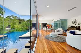 100 Modern Homes With Courtyards Stunning Home Two Pavilions Linked By A Central