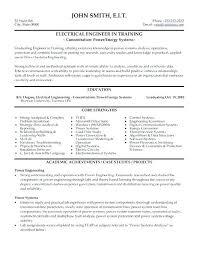 Engineering Resume Keywords Electrical Example Engineer Best Templates