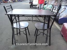 2 Seater Dining Table Alissandra Chair Lorenz Furniture