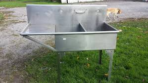 Fish Cleaning Station With Sink by Stainless Steel 2 Bay Sink Fish Cleaning Station Ohio Game