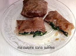 ma cuisine sans gluten feuilles de brick sans gluten farcies jambon ou saumon et