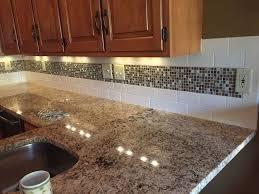 Kitchen Subway Tile Backsplash with Mosaic Deco Band Wooster of