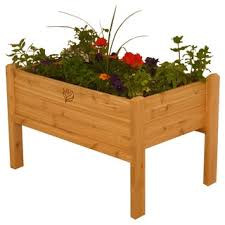 Gronomics Raised Garden Bed by Raised Planter Box Free Shipping Today Overstock Com 15397421