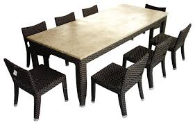 8 Person Patio Table by Impressive 8 Seat Outdoor Dining Set Creative Of Outdoor Dining