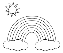 Rainbows Coloring Page Free Online Printable Pages Sheets For Kids Get The Latest Images Favorite To