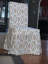 Creative Fabric Dining Chair Covers Incredible Amazing Of Patterned Room With Best