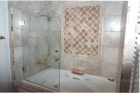 Bathtub Doors Home Depot by Bathtubs Glass Shower Doors Above Tub Bathroom Shower Glass Door