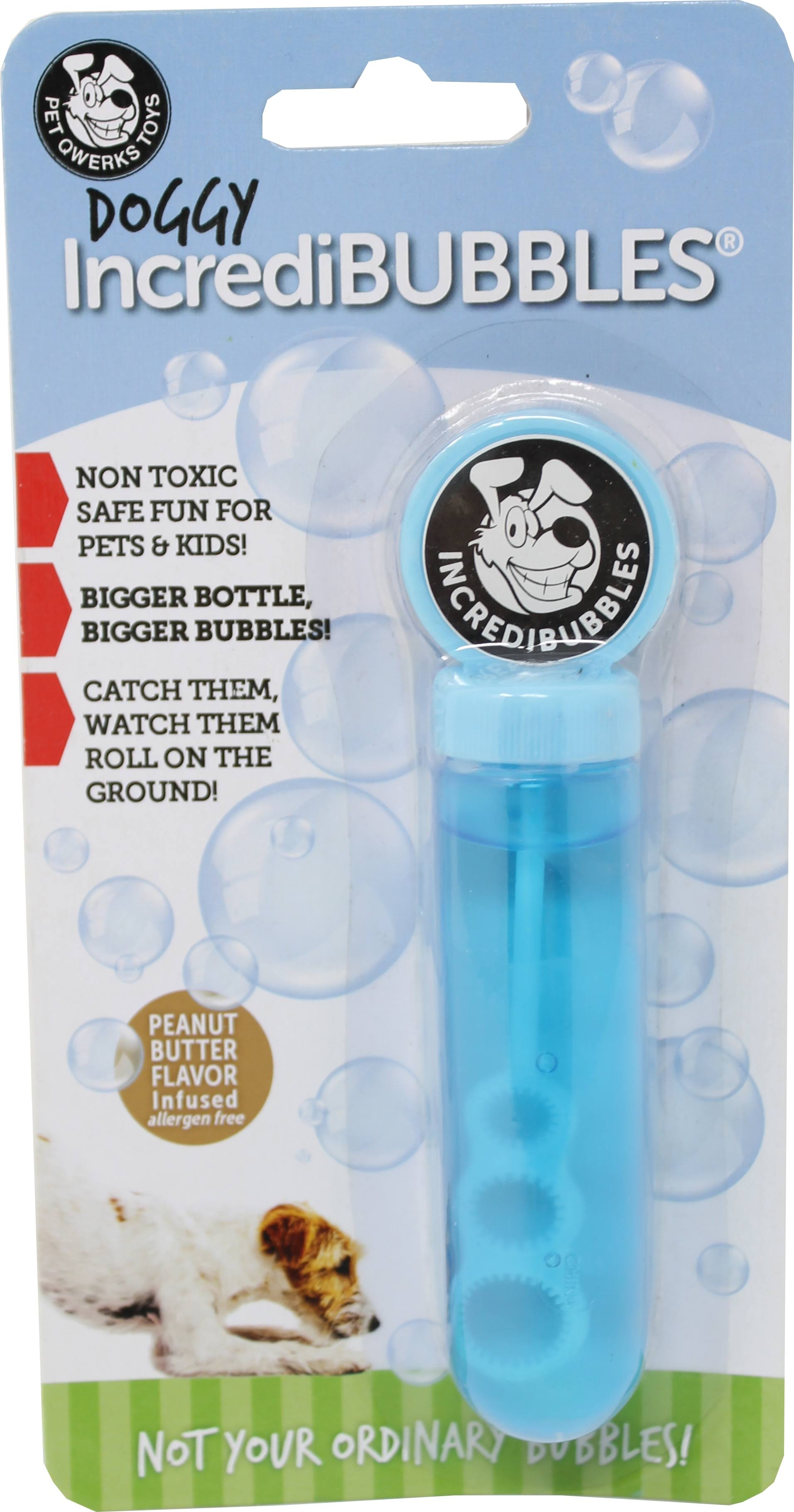 Pet Qwerks - Doggy Incredibubbles Peanut Butter
