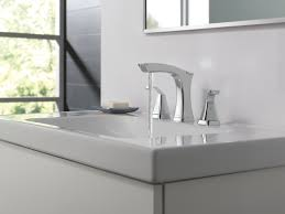 Delta Ara Widespread Faucet by Delta Widespread Bathroom Faucet Delta Windemere Brushed Nickel