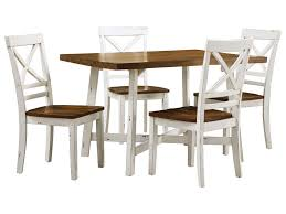 Standard Furniture Amelia 19082 Two-Tone Table And Chair Set | Dunk ... Lofty Inspiration Round Ding Table Set For 2 Fresh Small Kitchen Corliving Bistro Pewter Grey Chairs Of The Home Sunny Designs Homestead And Chair For Two Sparks Coaster Dinettes Casual 3 Piece Value City Liberty Fniture Lucca 535dr52ps Formal 5 Pedestal Decenthome Light Gold Metal Seat Medium Size Of Owingsville Rectangular Room 6 Side D58002 Primo Intertional Hyde Counter Height Illinois Tone Large 72 With 8 Dunes Reclaimed Wood Ding Chairs Set Two By The Orchard Winsome Lynden Stackable Outdoor