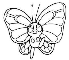 Butterfly Coloring Pages 24 Kids