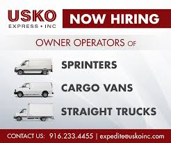 USKO Express, Inc Straight Truck Pre Trip Inspection Best 2018 Owner Operator Jobs Chicago Area Resource Expediting Youtube 2013 Pete Expedite Work Available In Missauga Operators Win One Tl Xpress Logistics Tlxlogistics Twitter Los Angeles Ipdent Commercial Box Insurance Texas Mercialtruckinsurancetexascom Columbus Ohio Winners Of The Vehicle Graphics Design Awards Announced At Pmtc