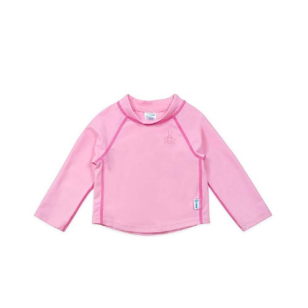 I Play - Long Sleeve Rashguard - 6M - Light Pink