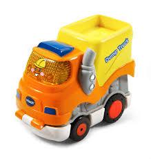 VTech Go! Go! Smart Wheels Press And Race Dump Truck - Toys