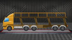 Auto Transport Truck | Learn Vehicles | Formation And Uses | Kids ...