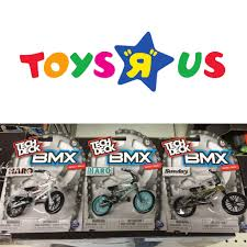 tech deck makes finger bmx bikes now i found some at one of my