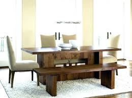 Bench Dining Room Table Round With Seat Seating
